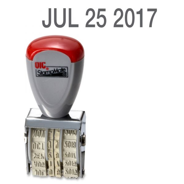 OIC 12-year Month/Day/Year Date Stamper