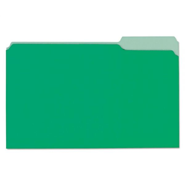 Universal Green Colored File Folders