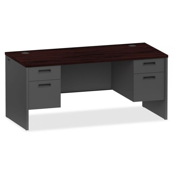 Lorell Prominence 79000 Series Double Pedestal Computer Desk