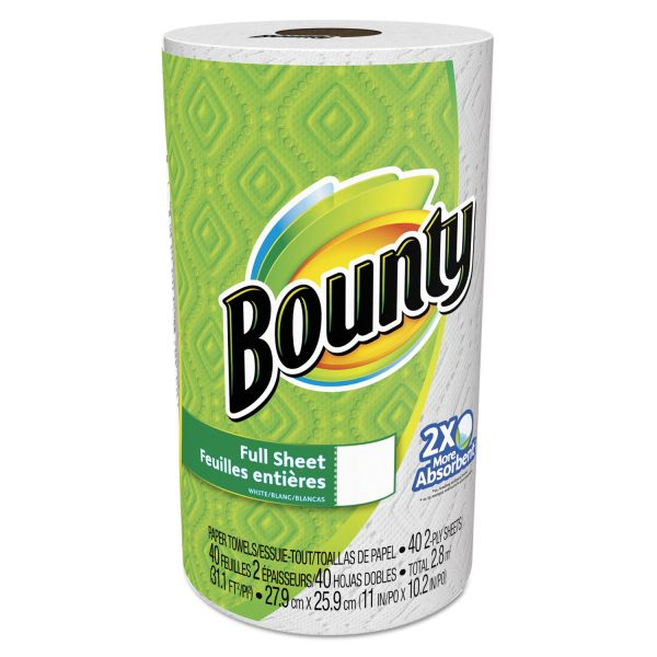 Bounty Perforated Full Sheet Paper Towels
