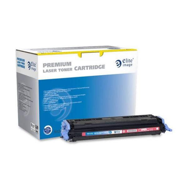 Elite Image Remanufactured HP 124A (Q6003A) Toner Cartridge