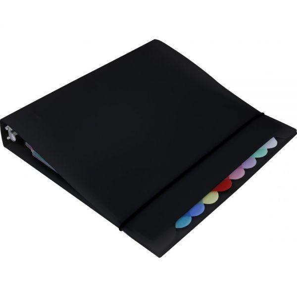 Storex Organizer Binder With 8 Tab Dividers