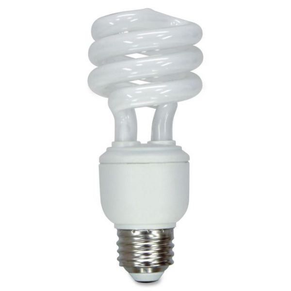 GE 14-watt CFL Fluorescent Bulbs