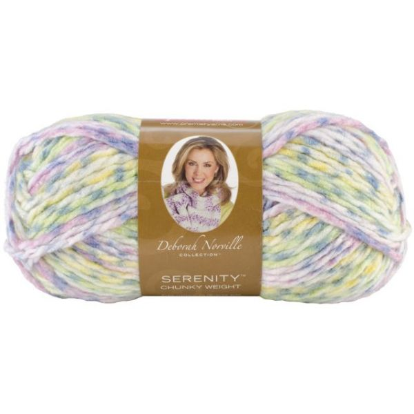 Deborah Norville Collection Serenity Chunky Yarn - Sugar & Spice