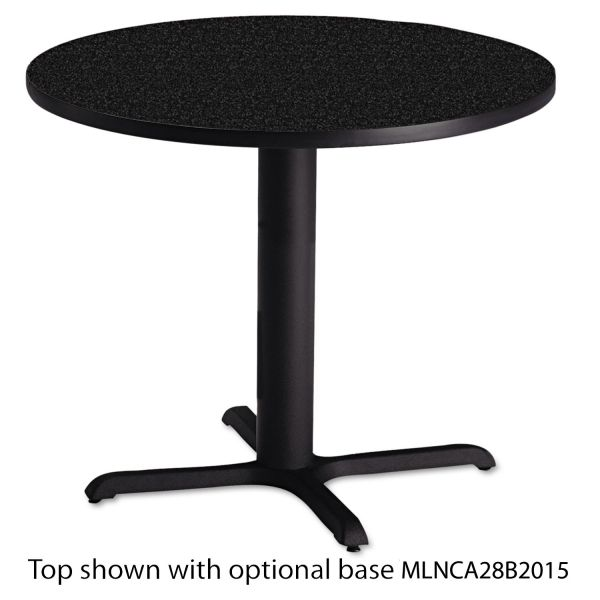 "Tiffany Industries Table Top, 36"" Round, Charcoal"