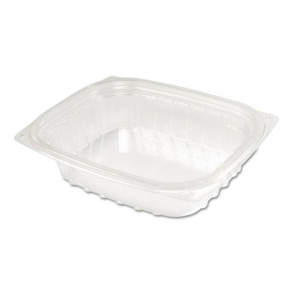 Dart ClearPac Container Lid Combo-Pack, 5-7/8x4-7/8x1-5/16, Clear 8oz 63/PK 4 PK/CT