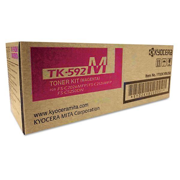 Kyocera TK592M Magenta Toner Cartridge