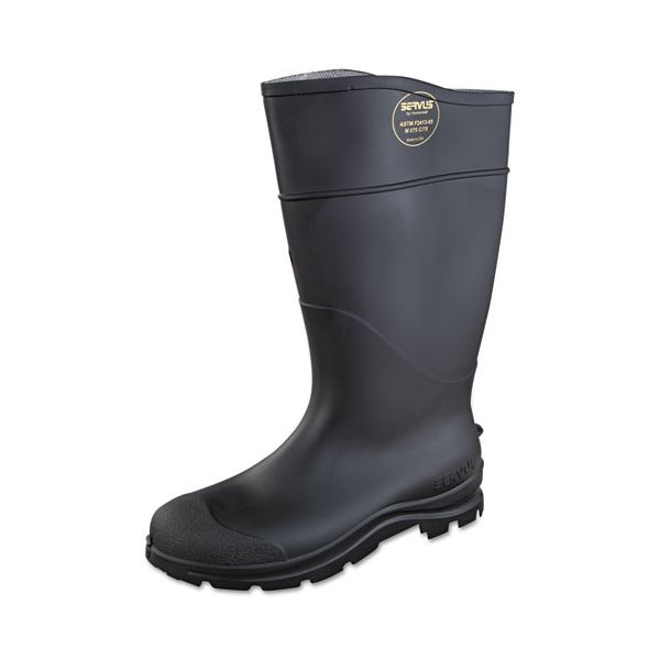 SERVUS by Honeywell CT Safety Knee Boot with Steel Toe, Black, Pair