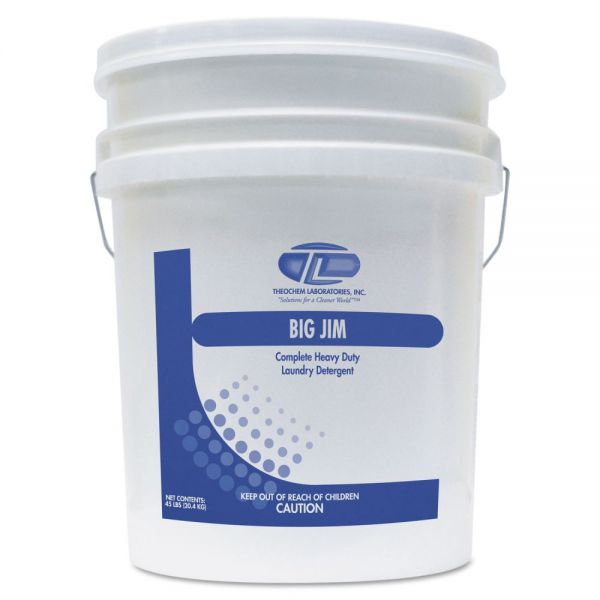 Theochem Laboratories Big Jim Powder Laundry Detergent