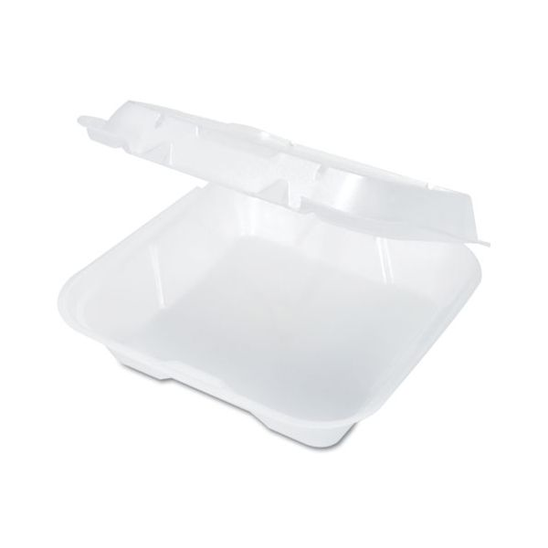 Genpak Snap-It Vented Takeout Foam Clamshell Food Containers