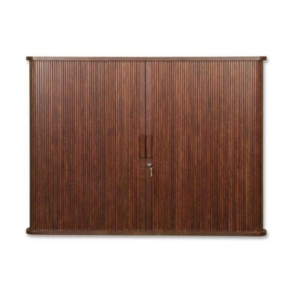 Balt Mahogany Tambour Door Conference Cabinet