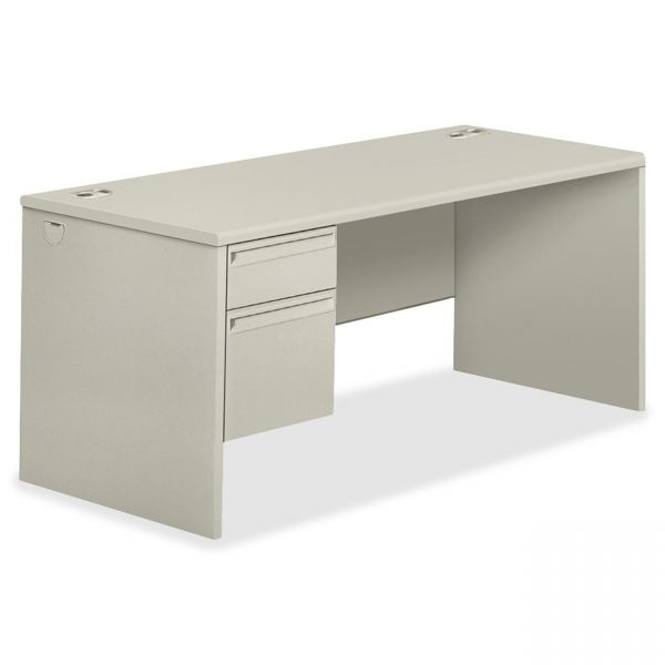 HON 38000 Series Right Pedestal Computer Desk