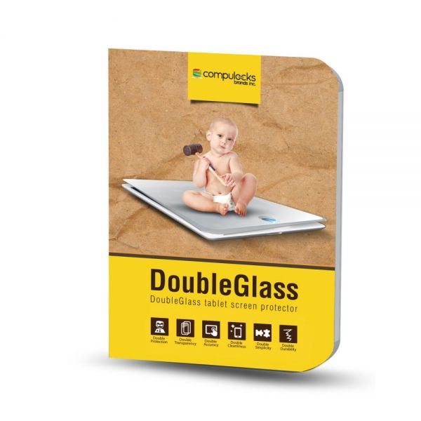 Compulocks Armored Glass Screen Protector - Anti-Glare Screen - For Tablets and Smartphones Transparent