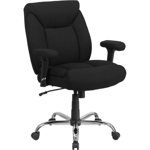 Flash Furniture Big & Tall Swivel Task Chair [GO-2073F-GG]