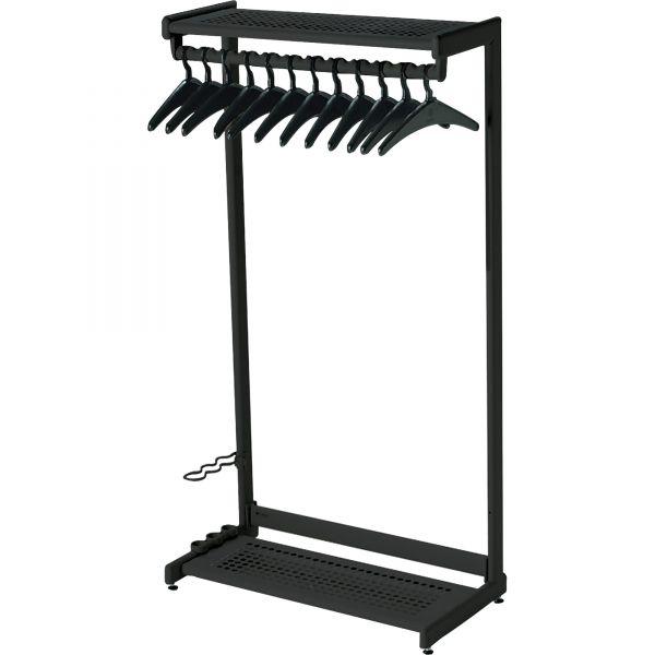 Quartet Two-Shelf Garment Rack