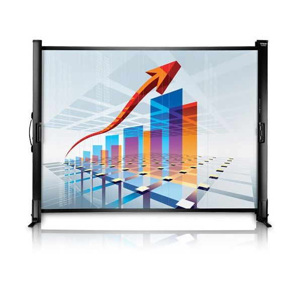 """Epson ES1000 Manual Projection Screen - 50"""" - 4:3, 16:9"""
