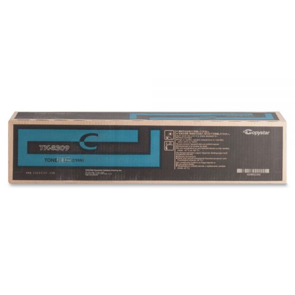 Kyocera TK-8309C Original Toner Cartridge - Cyan