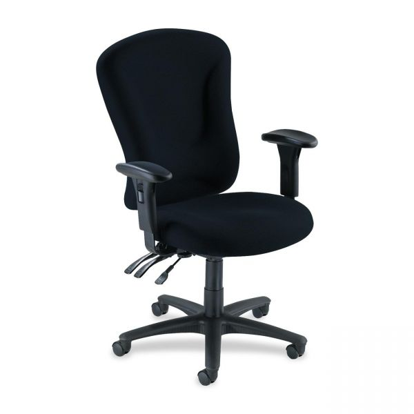 Lorell Accord Fabric Swivel Task Chair