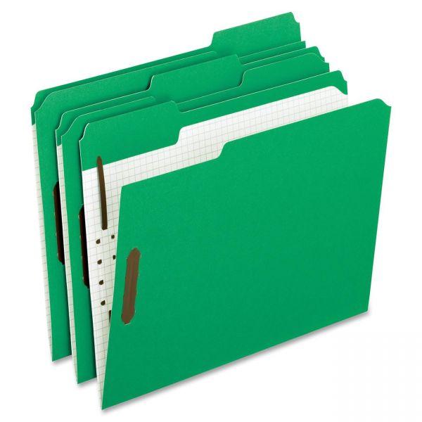 Pendaflex Reinforced Top Tab Folders With Fasteners