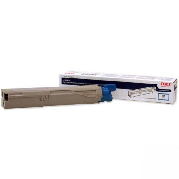 Oki 43459403 Cyan Toner Cartridge