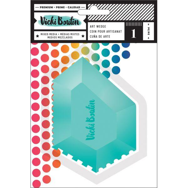 Vicki Boutin Color Kaleidoscope Silicon Art Wedge