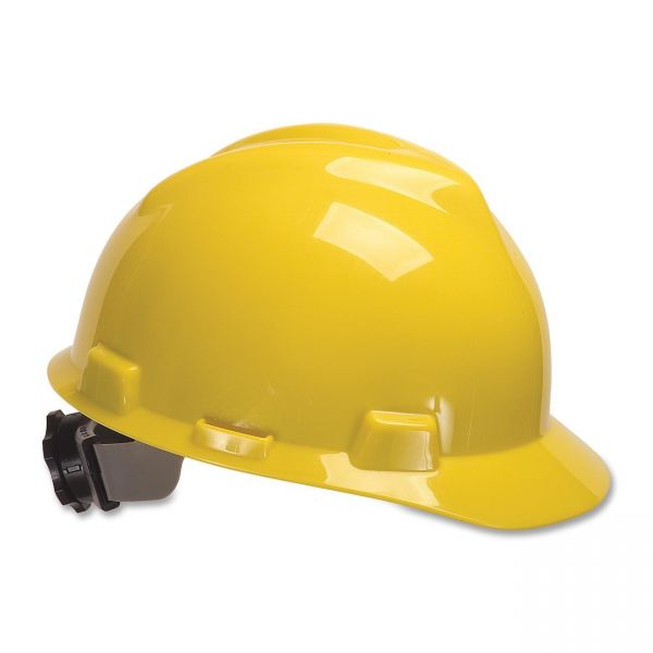 MSA V-Gard Cap Style Slotted Protective Hard Hat