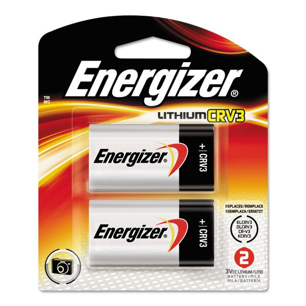 Energizer CRV3 e2 Lithium Photo Batteries