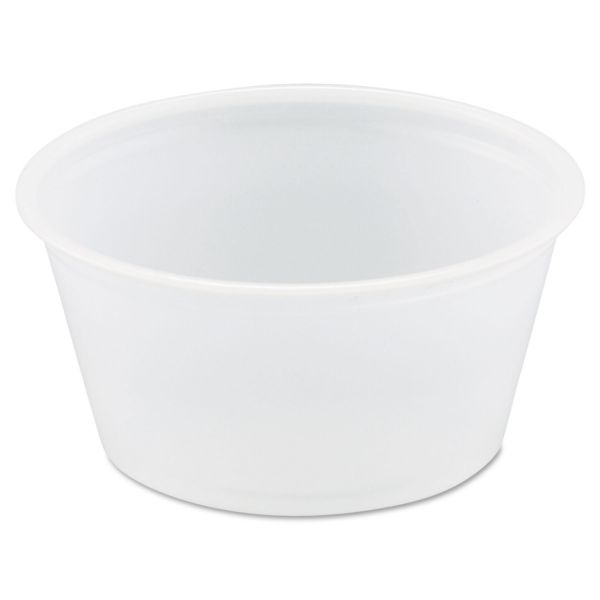 SOLO 2 oz Plastic Portion Cups