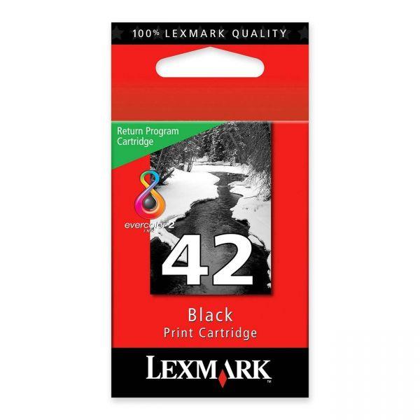 Lexmark #42 Black Return Program Ink Cartridge (18Y0142)