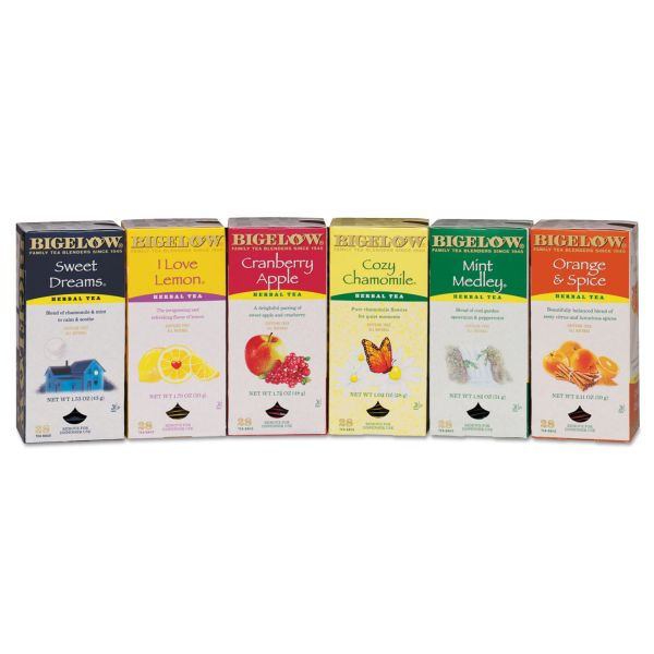 Bigelow Assorted Caffeine-Free Herbal Tea