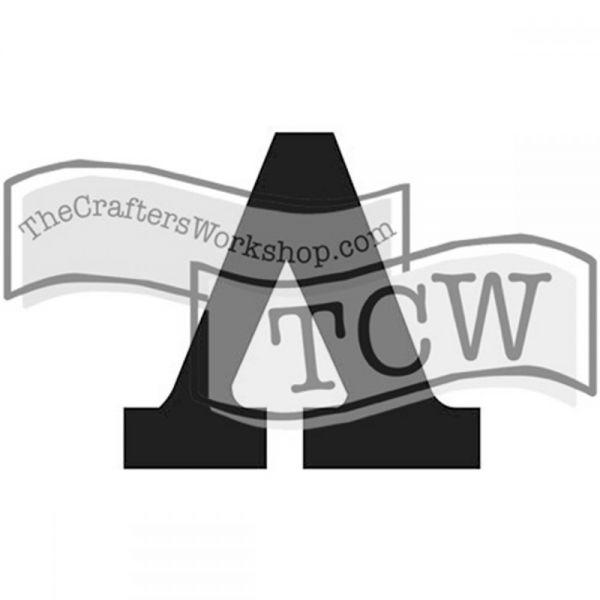 "Crafter's Workshop Greek Letters 4""X3"""