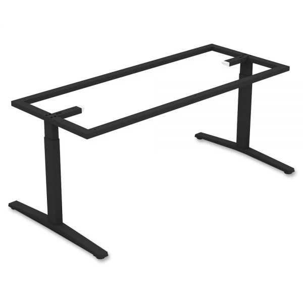 Lorell Rectangular Conference T-leg Table Base