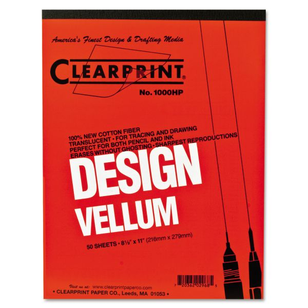 Clearprint Design Vellum Paper Pad