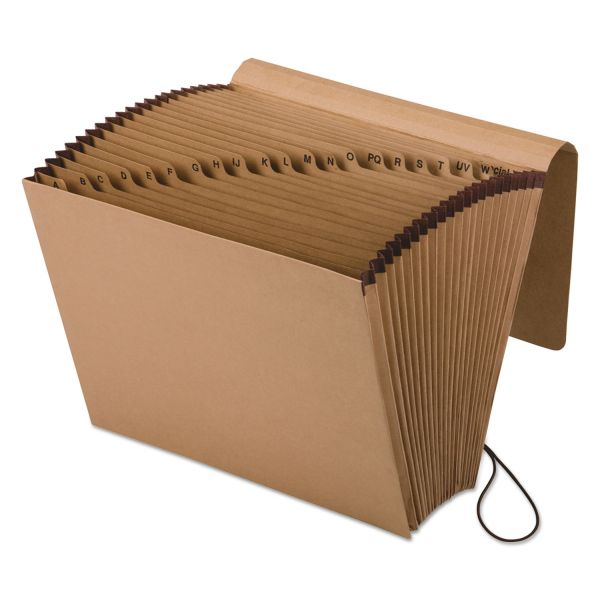Pendaflex Kraft Indexed Expanding File, 21 Pockets, Kraft, Letter, Brown
