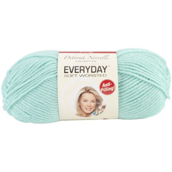 Deborah Norville Collection Everyday Soft Worsted Yarn - Glass