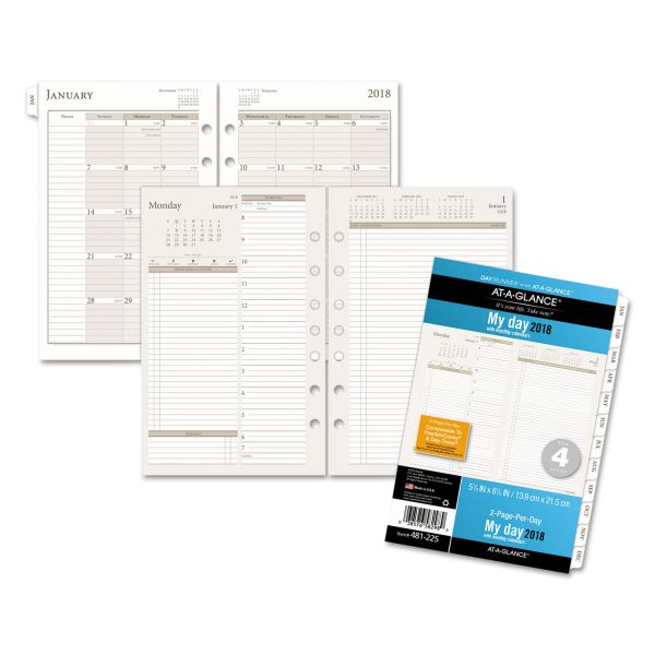 Day Runner PRO 2PPD Wide Area Planning Pages