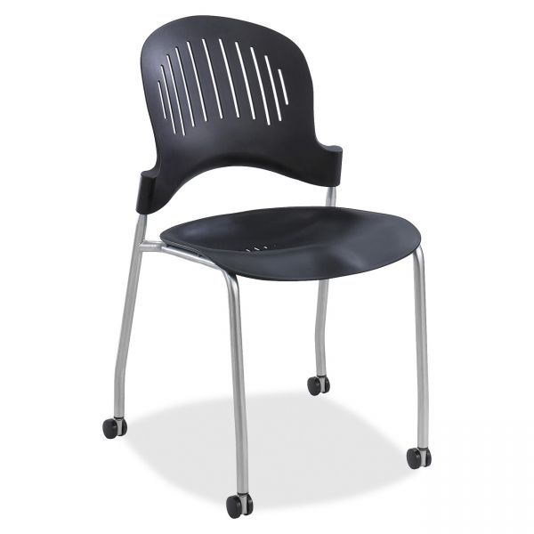 Safco Zippi Plastic Stacking Chairs