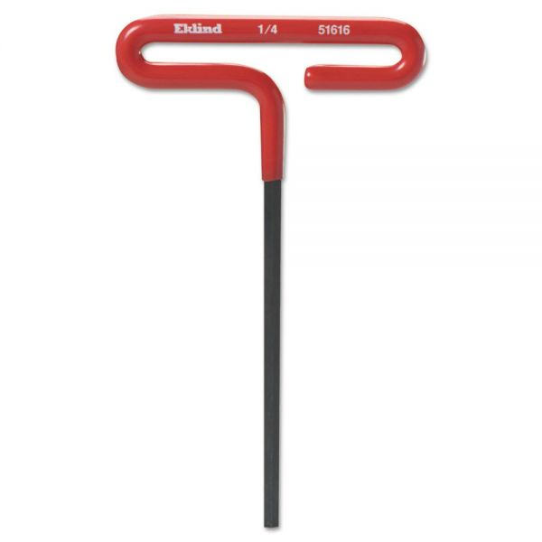 "Eklind T-Handle Hex Wrench, Cushion Grip, 5/32"", 6"" Long"