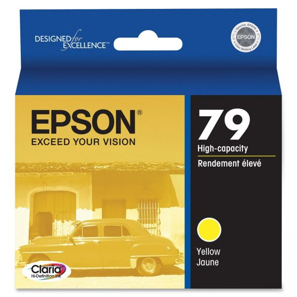 Epson 79 Yellow High-Capacity Ink Cartridge (T079420)