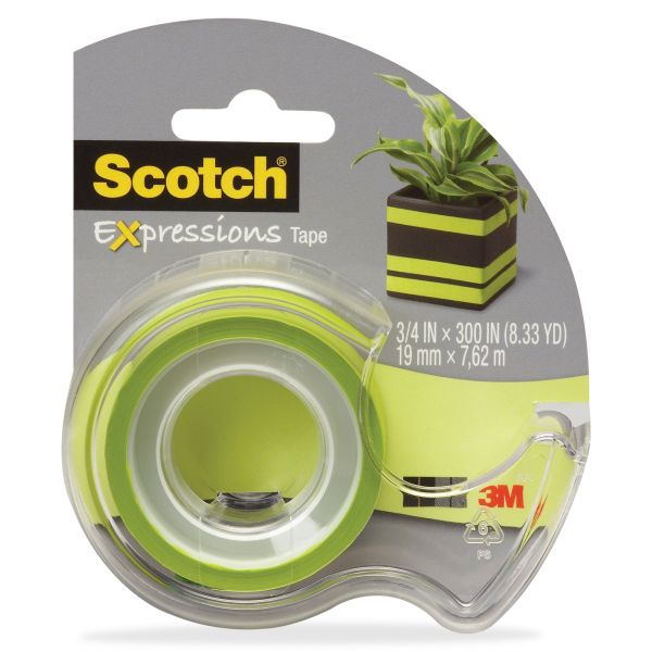 Scotch Expressions Transparent Tape