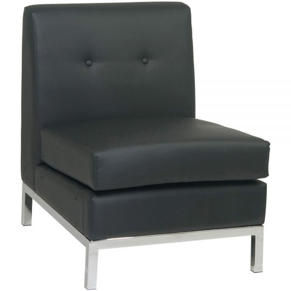 Ave Six Wall Street Armless Chair