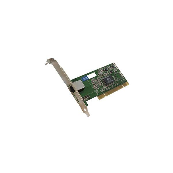 AddOn 10/100/1000Mbs Single Open RJ-45 Port 100m PCI Network Interface Card