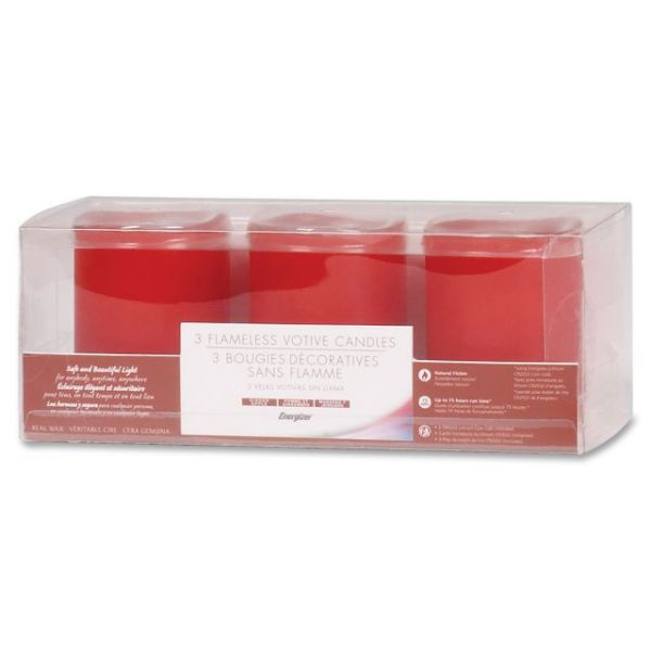 Energizer Flameless LED Wax Candles