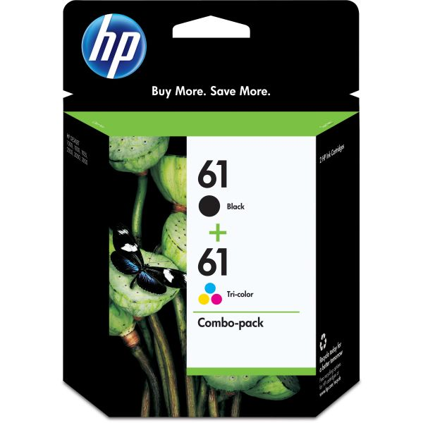 HP 61 Combo Pack Ink Cartridges (CR259FN)