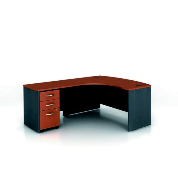 bbf Series C Professional Configuration - Auburn Maple finish by Bush Furniture