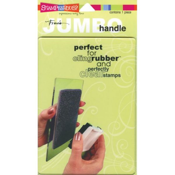 Stampendous Jumbo Perfectly Clear Handle Stamp Block
