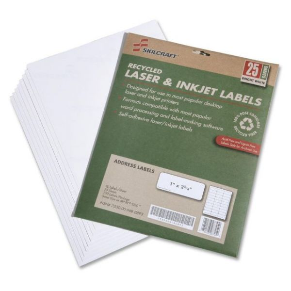 Skilcraft Address Labels