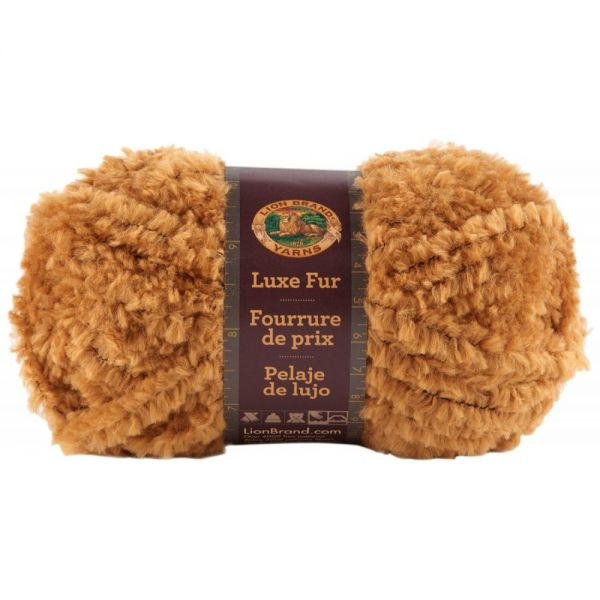 Lion Brand Luxe Fur Yarn