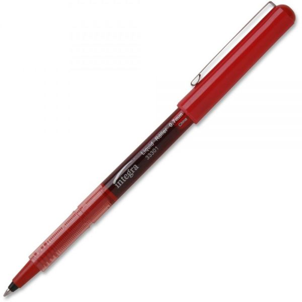 Integra Liquid Ink Rollerball Pens