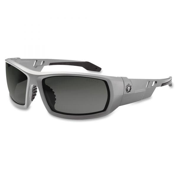 Ergodyne Fog-Off Smk Lens/Gray Frm Safety Glasses